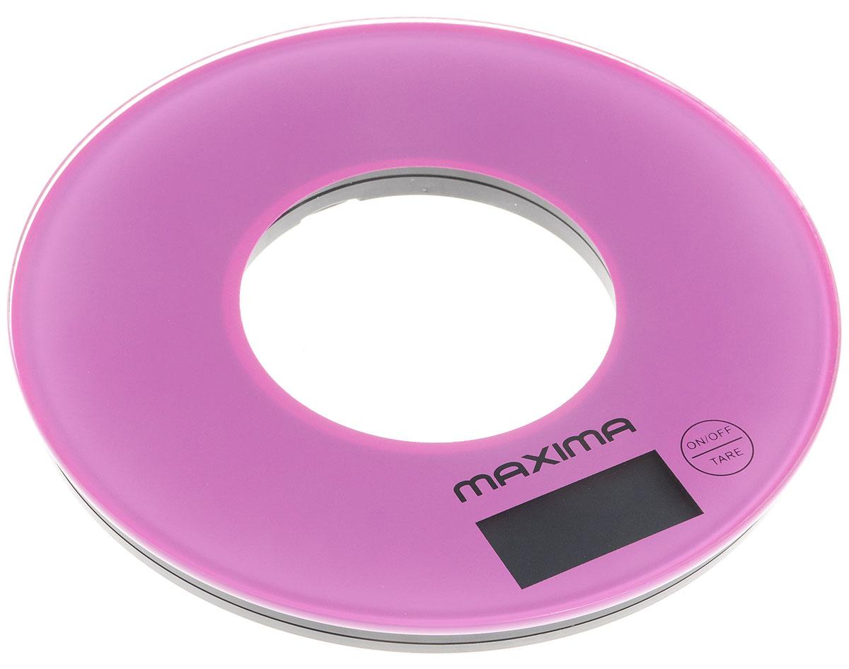 Maxima МS-067, Purple весы кухонные - Кухонные весы