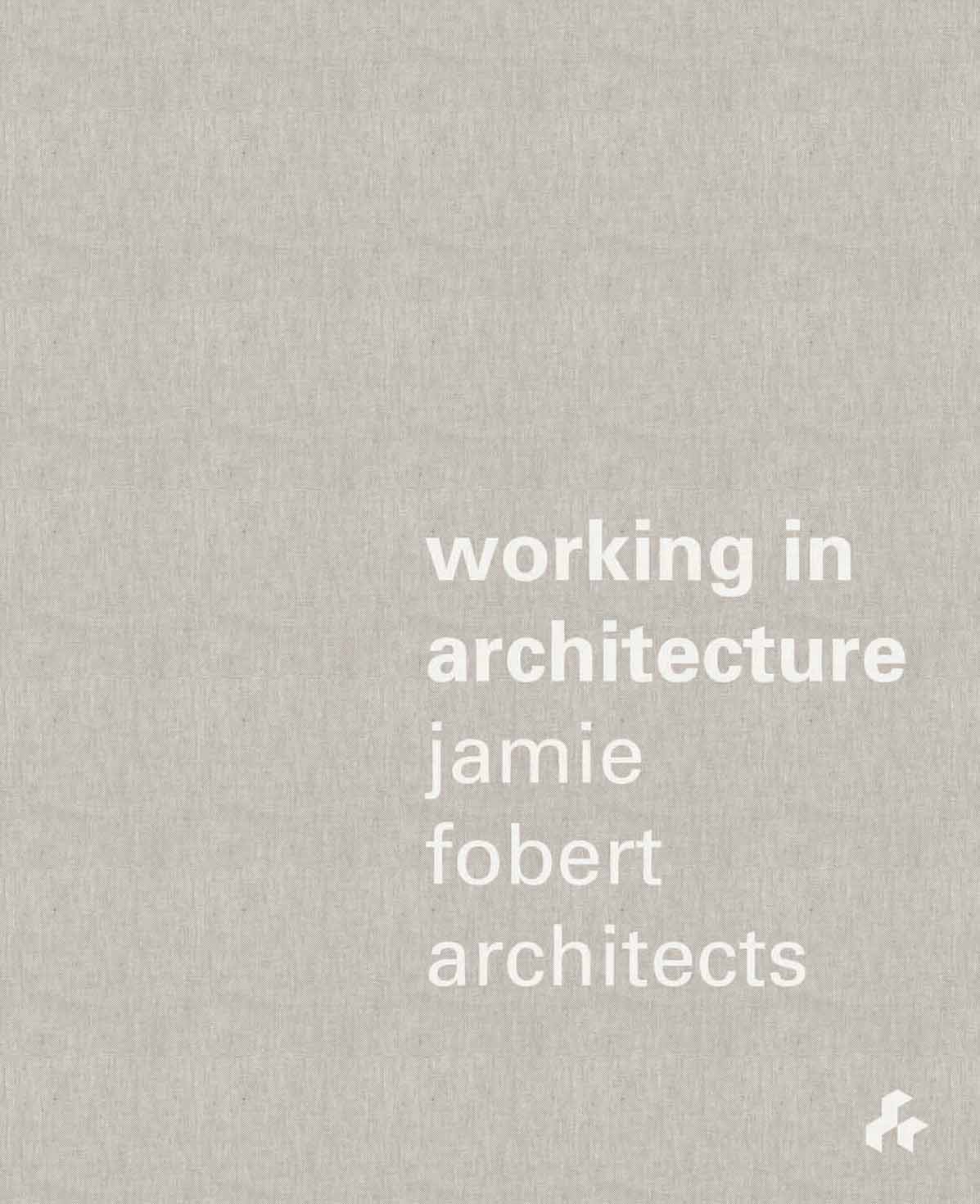 Working in Architecture cook with jamie