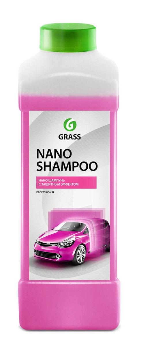 Наношампунь Grass Nano Shampoo, 1 л136101Наношампунь Grass Nano Shampoo - это высокопенный шампунь, который моет и защищает лакокрасочное покрытие автомобиля. Восстанавливает и придает блеск лакокрасочному покрытию, создает тонкую пленку, защищающую кузов от воды, грязи, обледенения. Обработанная поверхность дольше остается чистой и легко моется. Держится на кузове до 30 дней. Для нанесения с помощью пенокомплекта (1 л) потребуется 100 мл концентрата. Для ручной мойки необходимо развести концентрат из расчета 50 мл на 10 л теплой воды.Товар сертифицирован.