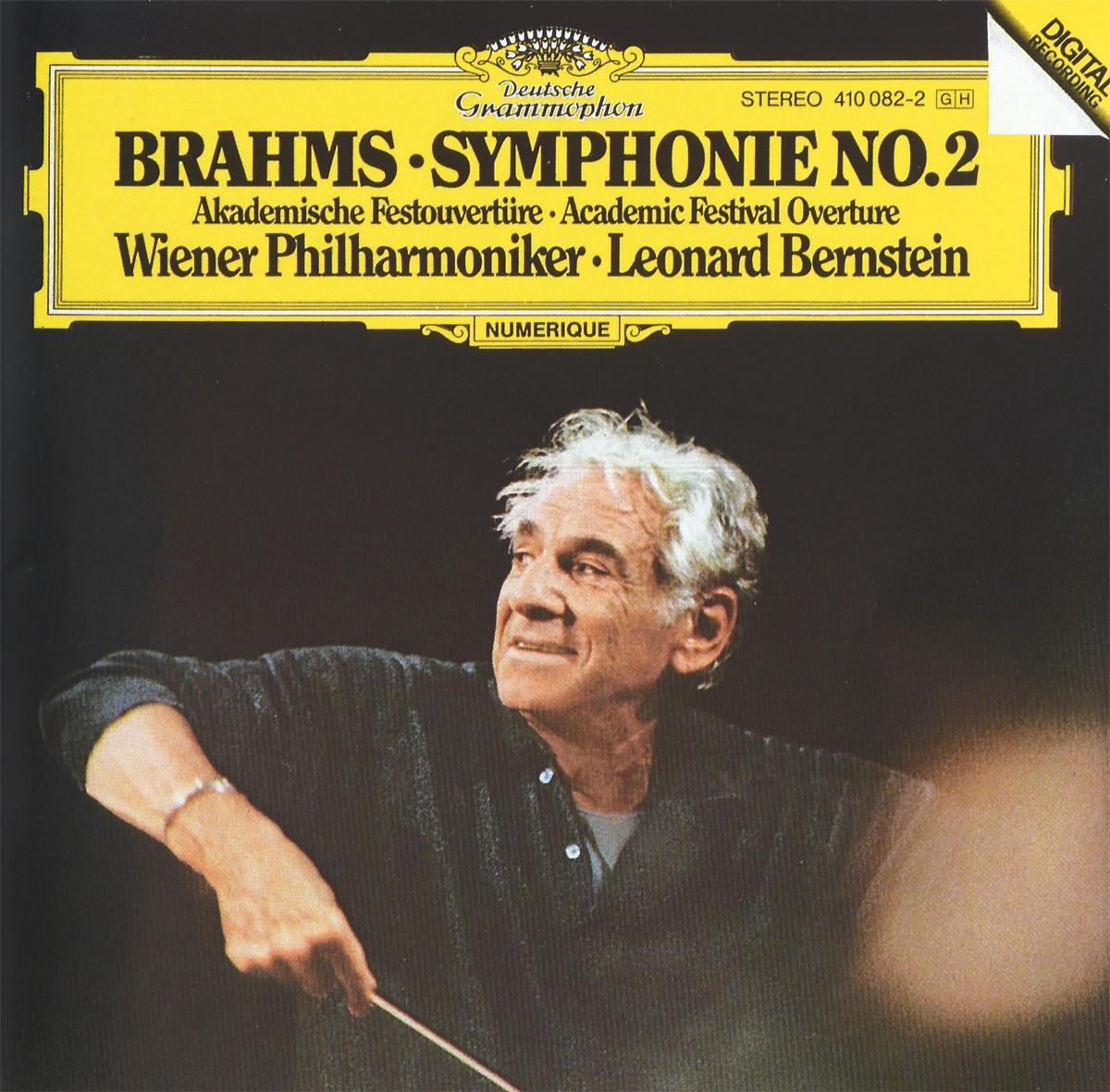 Леонард Бернштейн,Wiener Philharmoniker Leonard Bernstein. Brahms. Symphonie No. 2 / Akademische Festouverture münchner philharmoniker elbphilharmonie hamburg