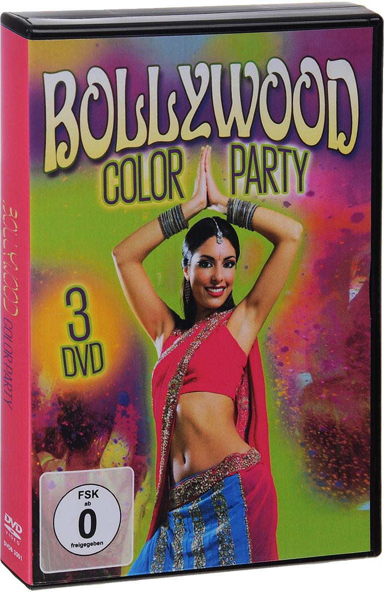 Bollywood Color Party (3 DVD)