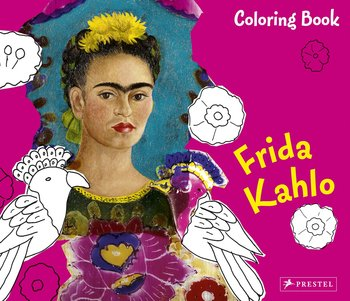 Frida Kahlo (Coloring Book Series)