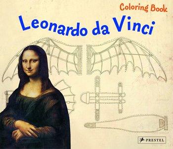 Coloring book: Leonardo da Vinci конструкторы bridge мост leonardo da vinci