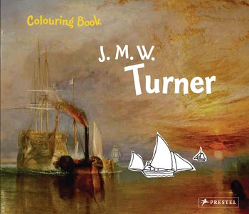 Сolouring Book: J. M. W. Turner die hard the official colouring book