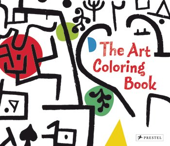 Art Coloring Book coloring of trees