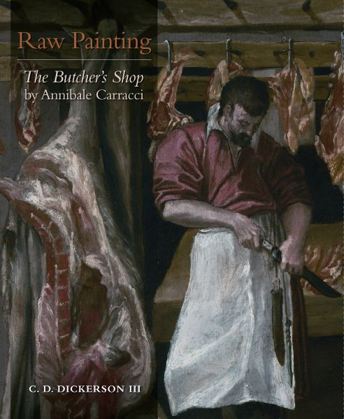 Raw painting: The Butcher`s shop by Annibale Carracci