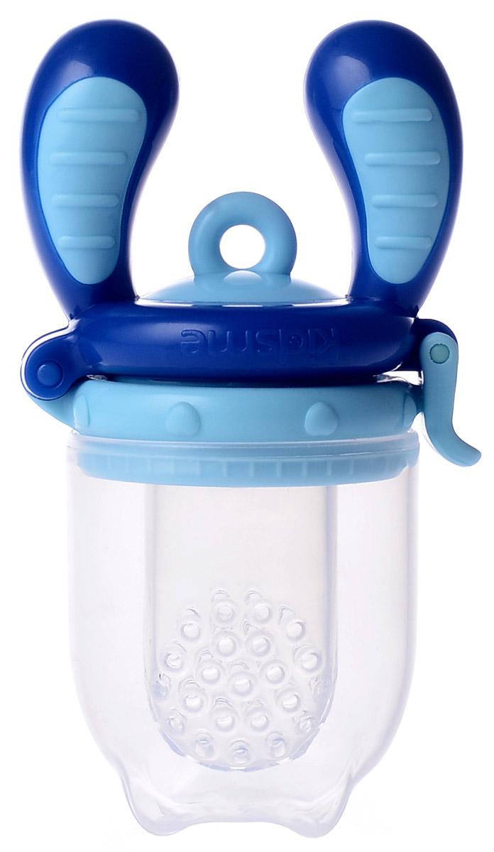 Kidsme Ниблер Фуд Фидер размер M от 4 месяцев цвет аквамарин аксессуары для бутылочек и поильников kidsme цепочка для фуд фидера