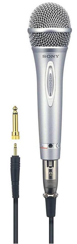 Sony F-V620 микрофон - Микрофоны