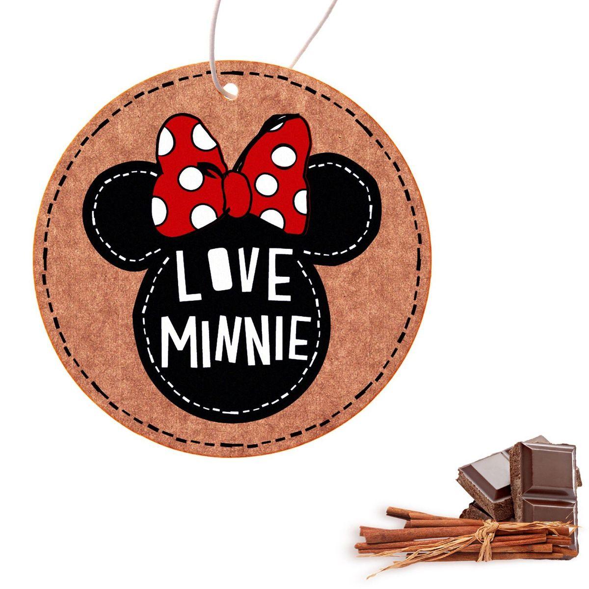 Ароматизатор в авто Disney Минни Маус. Love Minnie, 8,6 х 16,1 см1149006Яркость в серые городские будни и скучную езду по пробкам добавит ароматизатор в авто Love Minnie, Минни Маус. В нем сочетаются эксклюзивный дизайн и приятный аромат. Повесьте его на зеркало, и любимые герои уничтожат неприятные запахи.Если у вас нет автомобиля — не беда! Повесьте ароматизатор дома или на работе и наслаждайтесь чудесным благоуханием.
