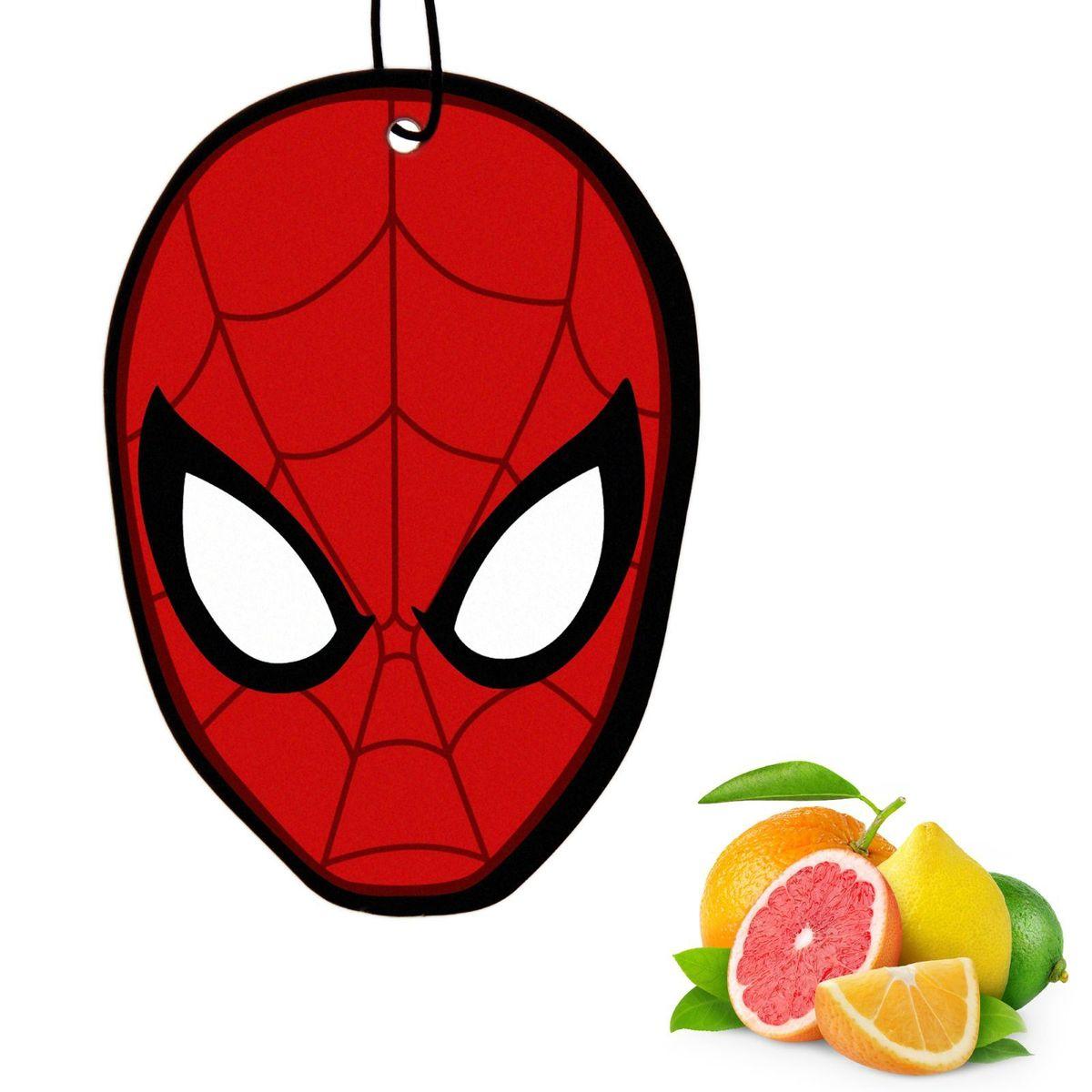 Ароматизатор автомобильный Marvel Spiderman 3. Цитрусовый удар, 8,9 х 15,9 см1149012Яркость в серые городские будни и скучную езду по пробкам добавит ароматизатор Marvel Spiderman 3. Цитрусовый удар. В нем сочетаются эксклюзивный дизайн и приятный аромат. Если у вас нет автомобиля - не беда! Повесьте ароматизатор дома или на работе и наслаждайтесь чудесным благоуханием.