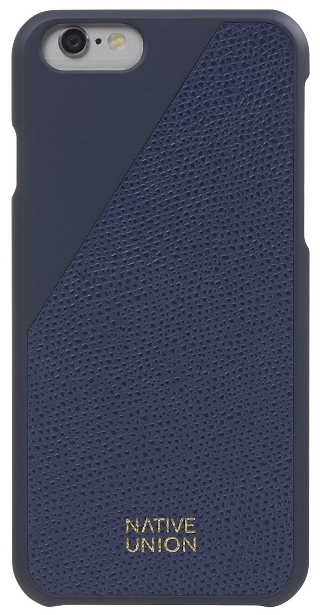 Native Union CLIC Leather чехол из телячьей кожи для iPhone 6/6s, Blue цены онлайн