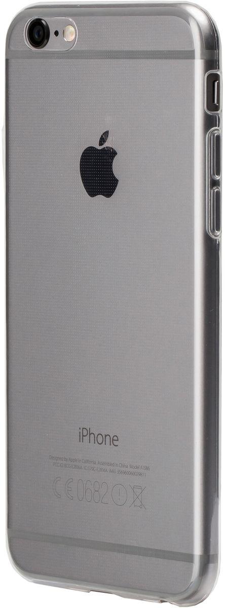 uBear Soft Tone Case чехол для iPhone 6 Plus /6s Plus, ClearCS11TR01-I6PЧистый дизайн для иконы стиля. Чехол из мягкого силикона с Anti-scratch покрытием от царапин. Благодаря Anti-slip покрытию чехол не скользит в руках. Легкий утонченный дизайн, подчеркивающий красоту смартфона. Безупречная защита Вашего устройства. Чехол обеспечивает свободный доступ ко всем функциональным кнопкам смартфона и камере.