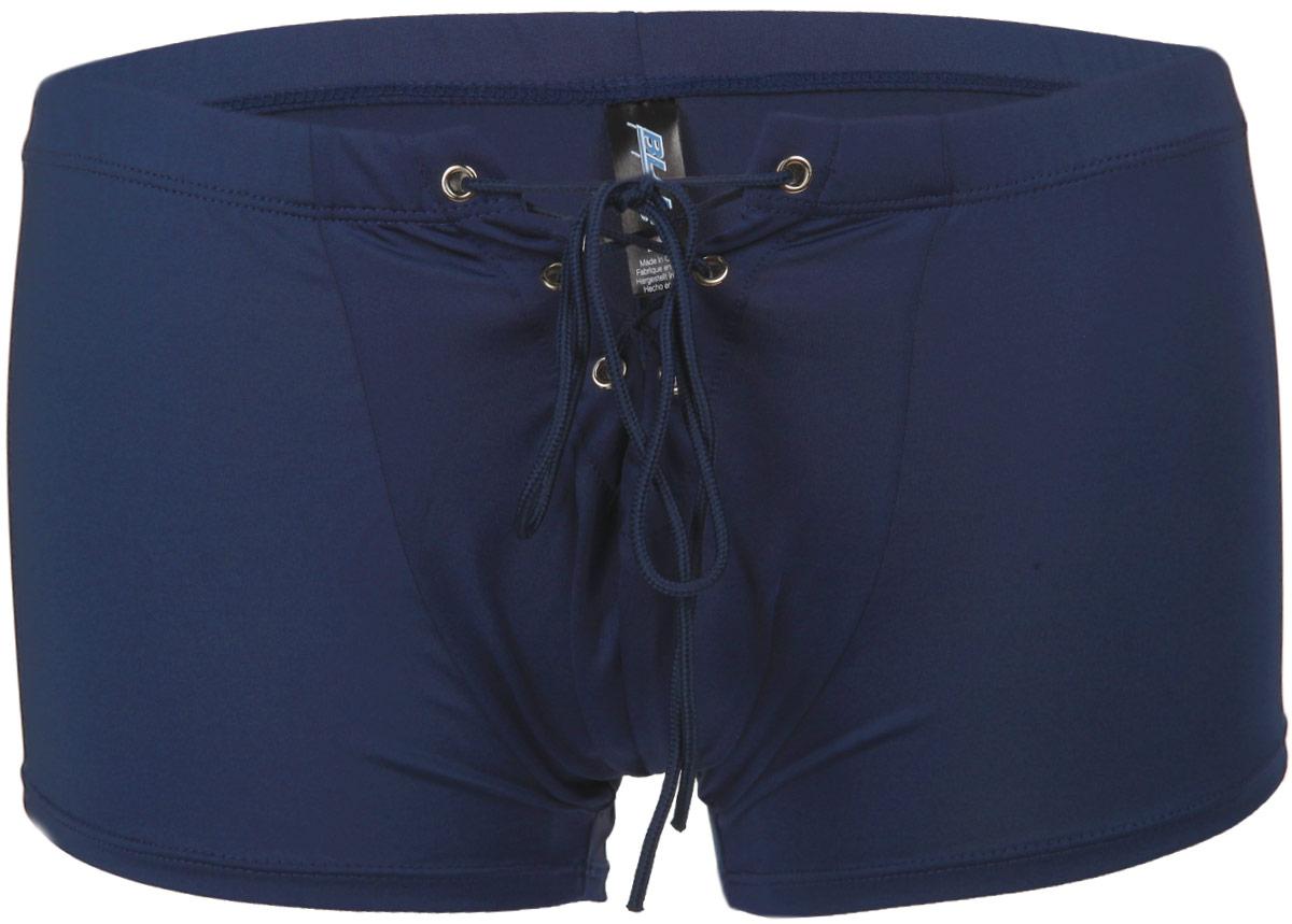 Трусы-боксеры мужские BlueLine, цвет: синий. BLM004-NBLU. Размер S/M (44/46)