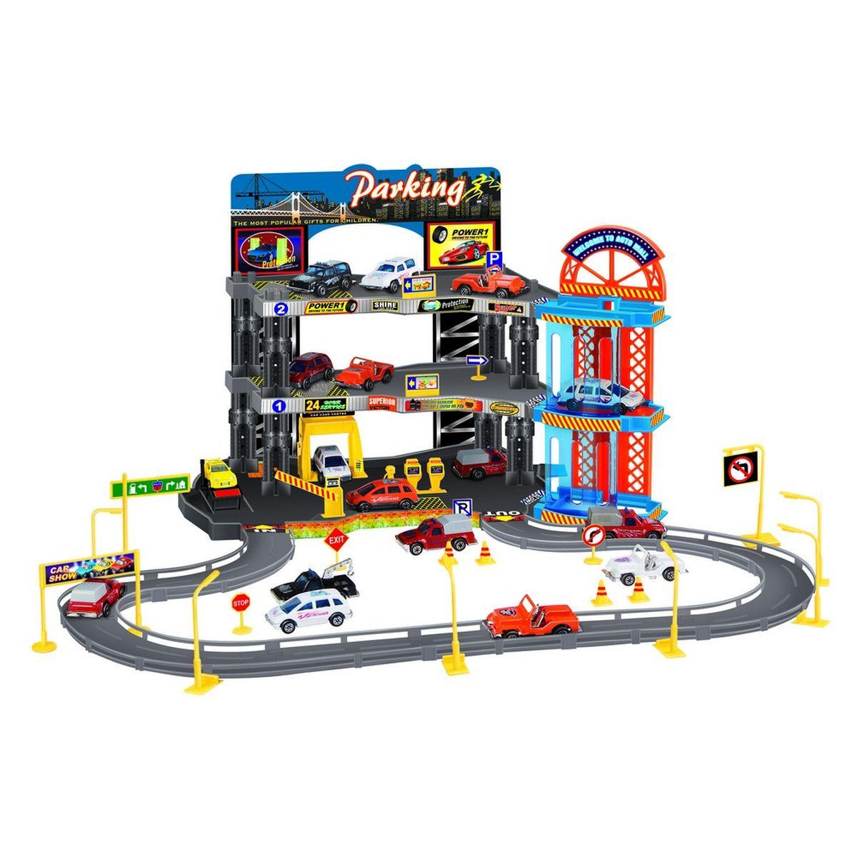 Dave Toy Игровой набор Парковочная станция игровой набор dave toy аэропорт с 1 машинкой