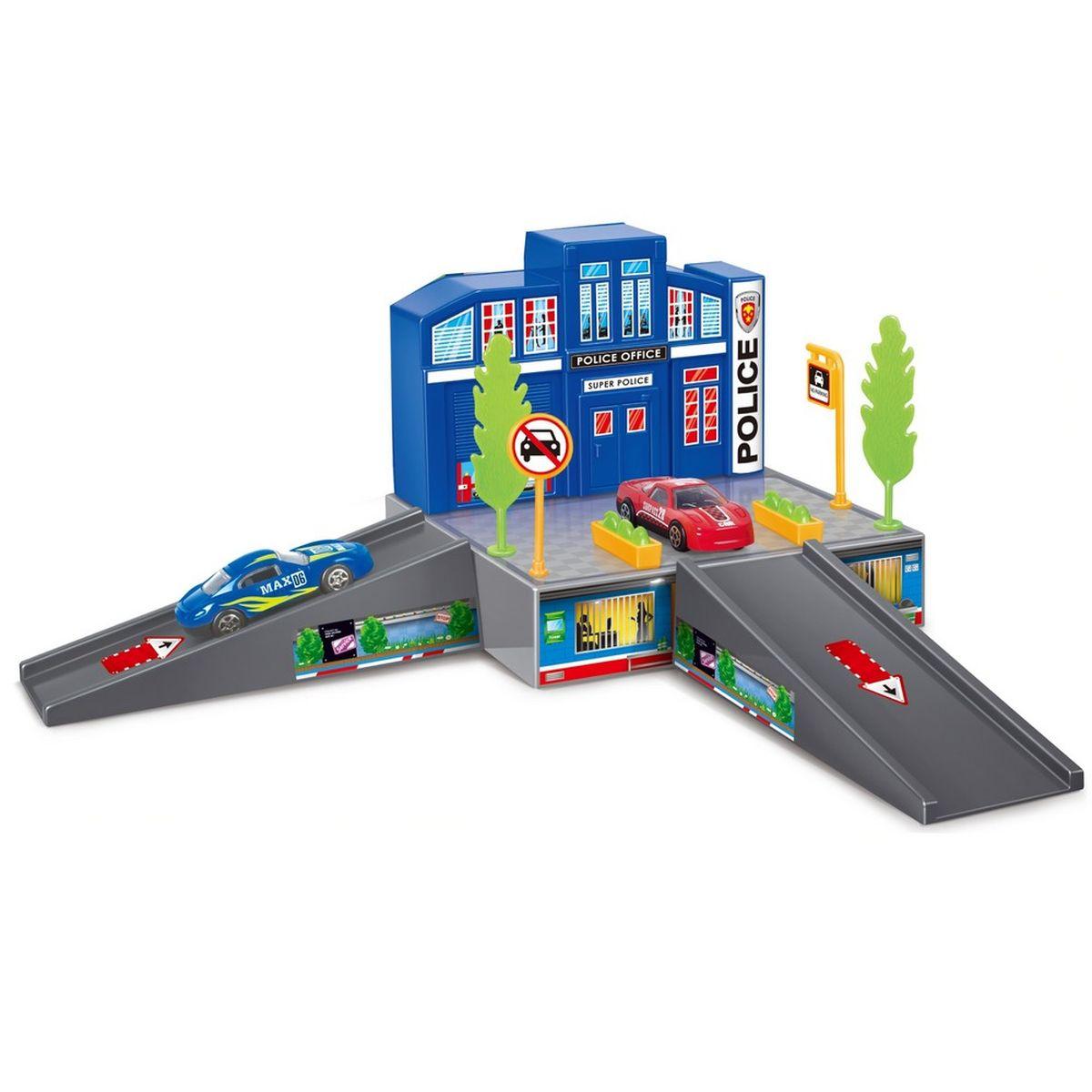 Dave Toy Игровой набор Полицейский участок земельный участок в переславле залесском