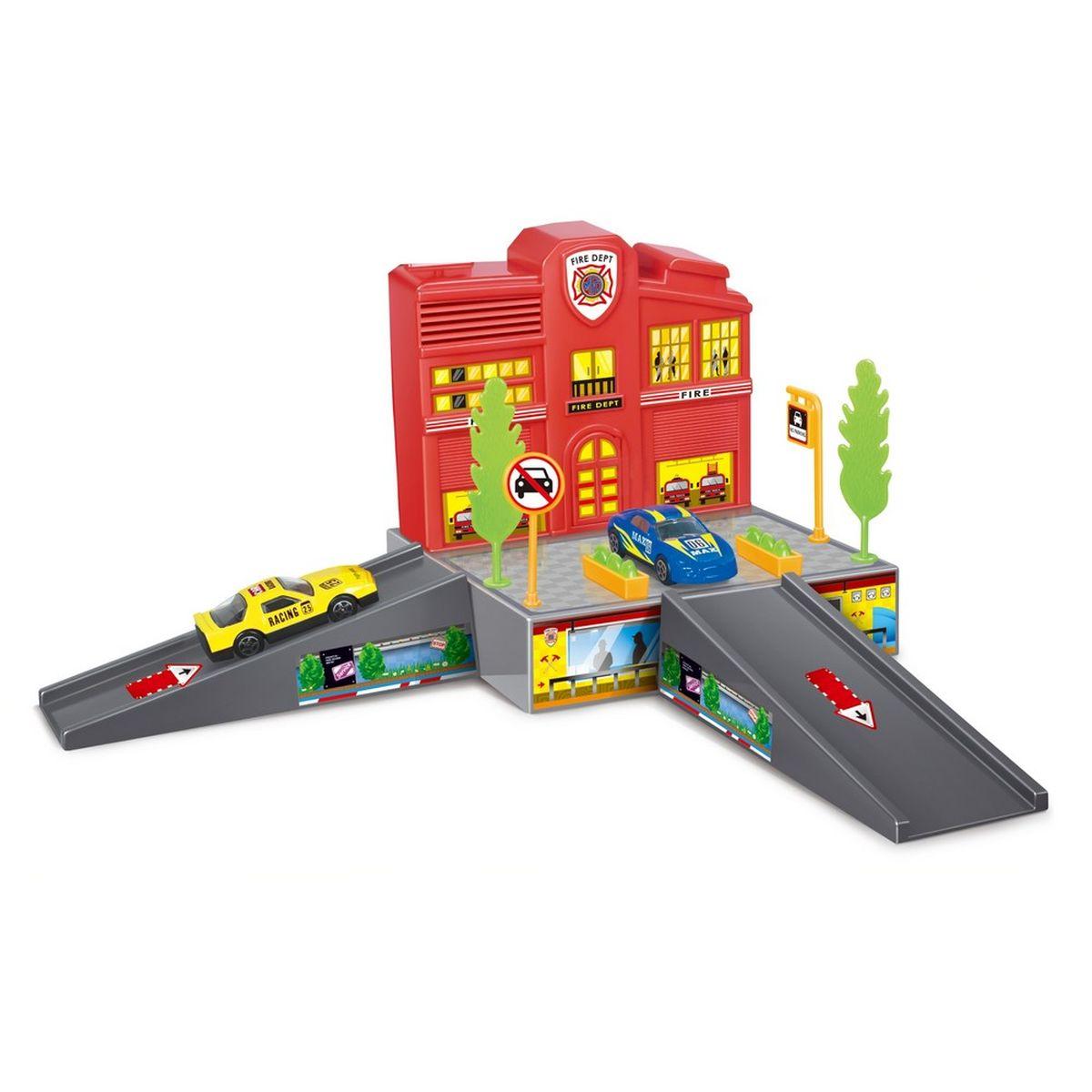 Dave Toy Игровой набор Пожарная станция dave toy погрузчик инерционный