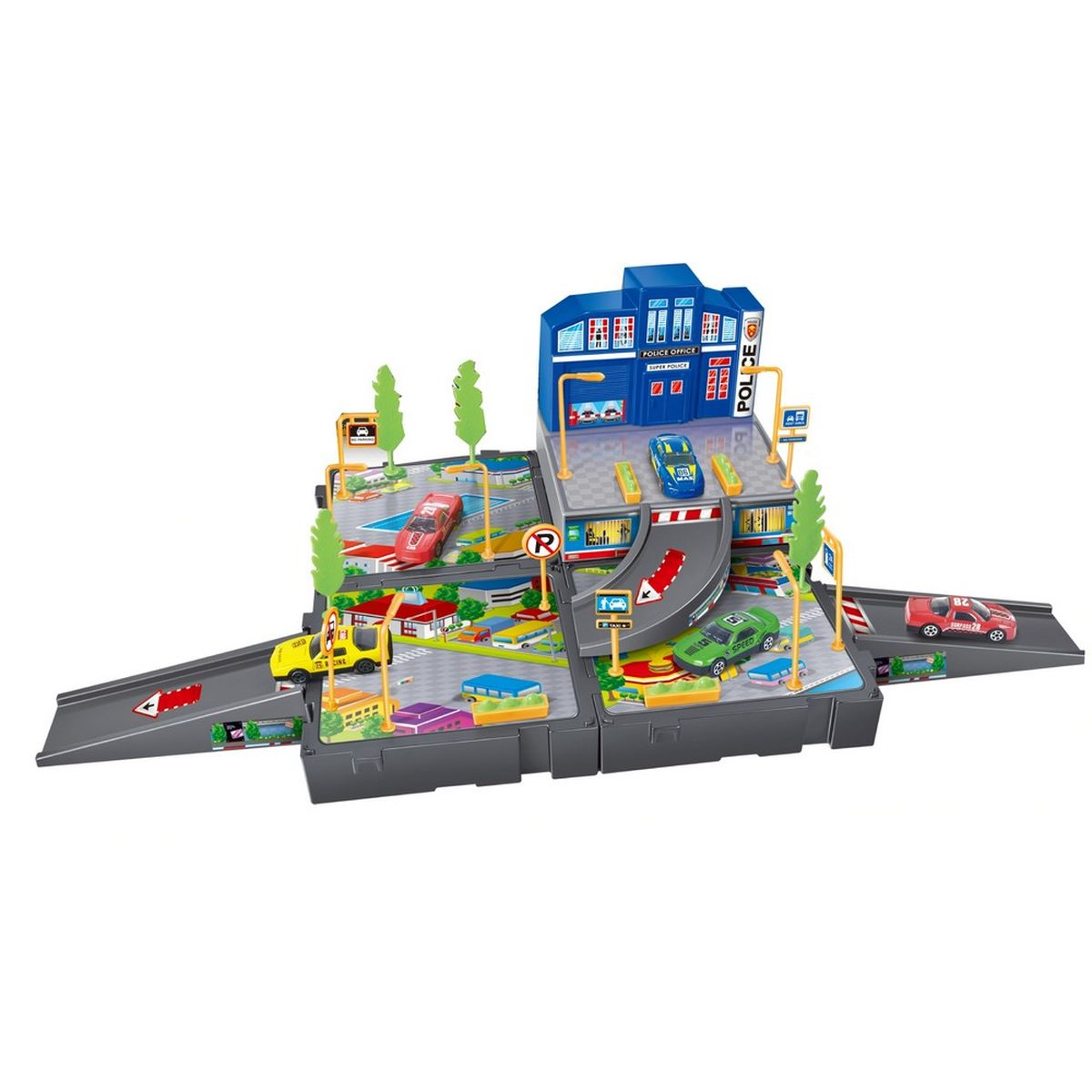 Dave Toy Игровой набор Полицейский участок 32024 игровой набор dave toy аэропорт с 1 машинкой