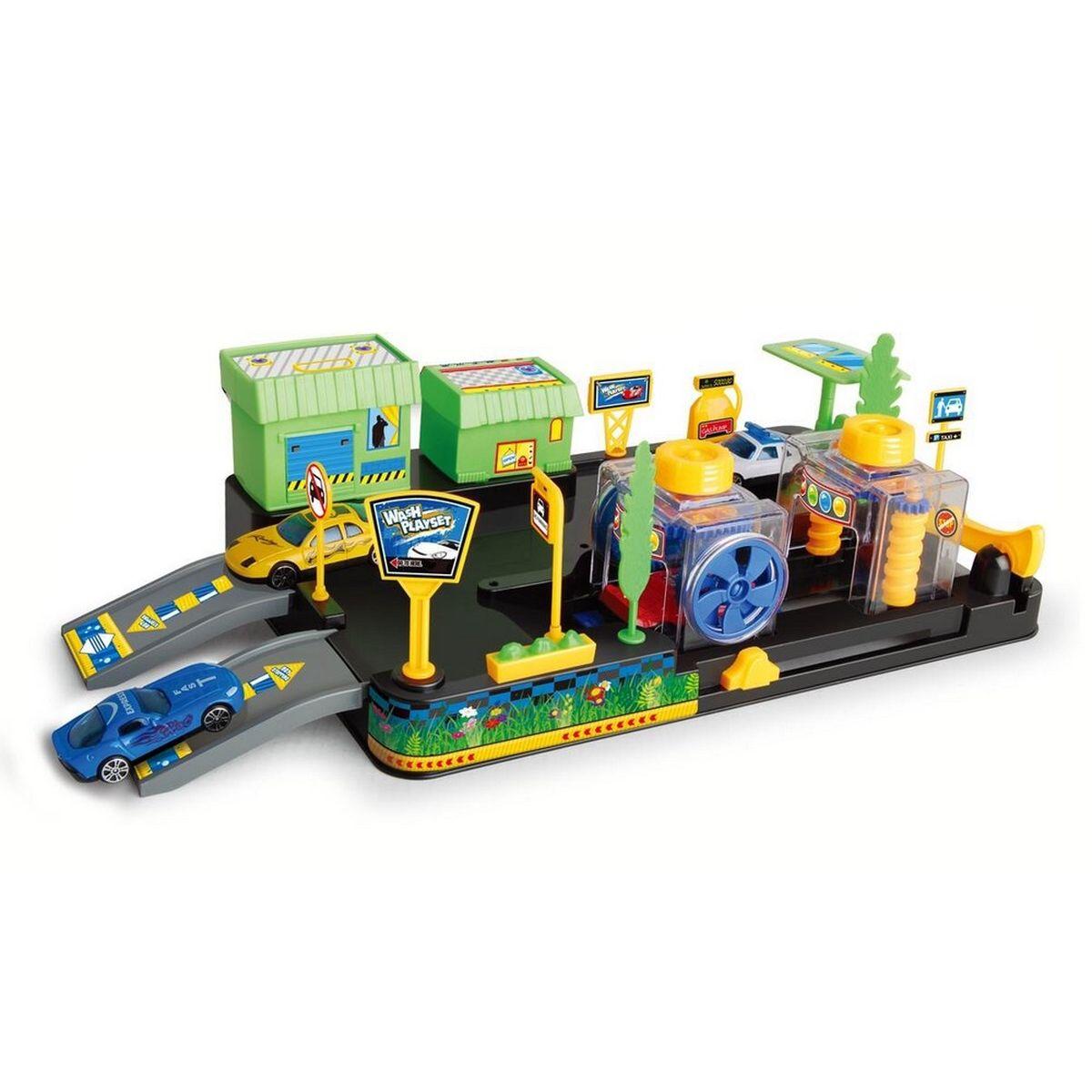Dave Toy Игровой набор Автомойка автотрек dave toy автомойка 32033