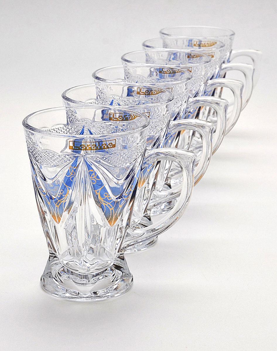 Набор стаканов для глинтвейна Mayer & Boch Loraine, 6 шт. 2022320223Набор Mayer & Boch Loraine состоит из шести стаканов, выполненных из прочного стекла. Предметы набора декорированы рельефом. Они излучают приятный блеск и издают мелодичный звон. Для удобства изделия оснащены изящной ручкой.Набор Mayer & Boch Loraine прекрасно оформит интерьер кабинета или гостиной и станет отличным дополнением бара. Такой набор также станет хорошим подарком к любому случаю.