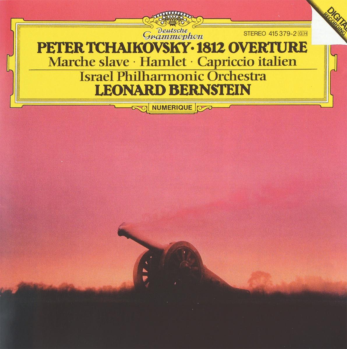 Leonard Bernstein. Peter Tchaikovsky. 1812 Overture / March Slave / Hamlet / Capriccio Italien