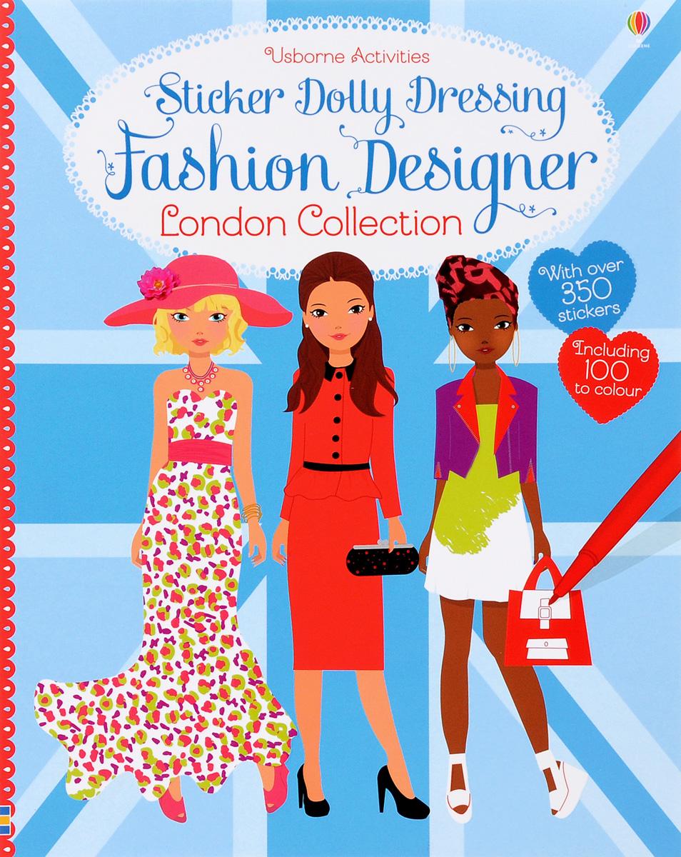 Sticker Dolly Dressing Fashion Designer London royal london sticker book