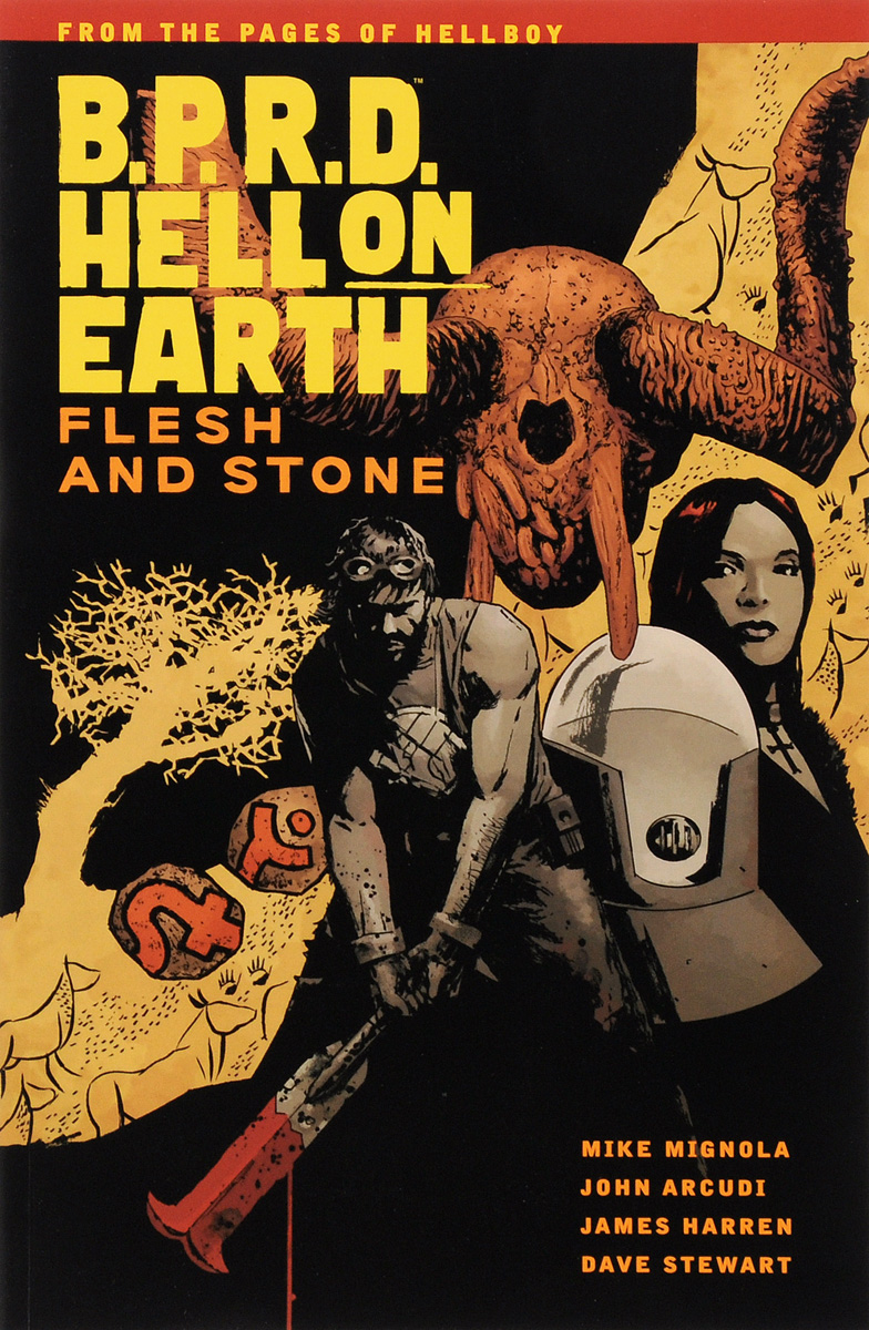 BPRD HEO 11 FLESH AND STONE ����������������������