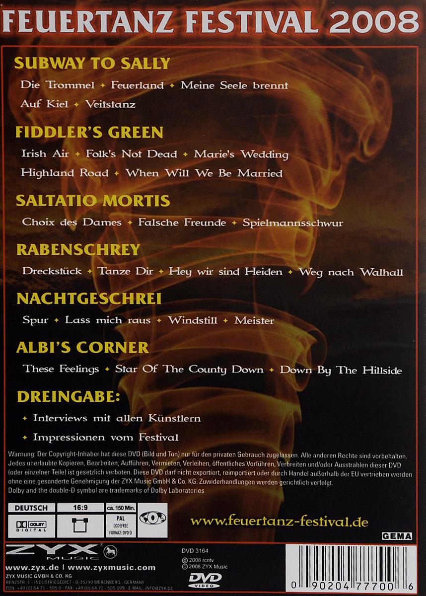 Feuertanz Festival 2008 ZYX Music