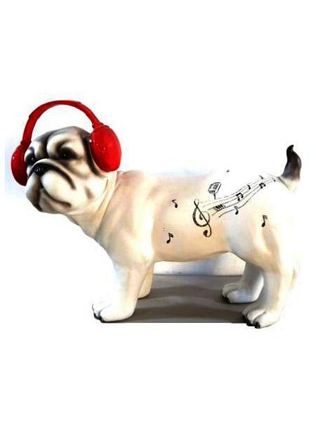 Садовая фигура Marquis Собака белая, 43 х 17 х 32 см115-MRСадовая фигура Marquis Собака белая понравится любителям ландшафтного дизайна. Будет прекрасно смотреться среди цветов.Материал: полистоун. Размеры : 43 х 17 х 32 см.Вес товара: 3,600 кг.