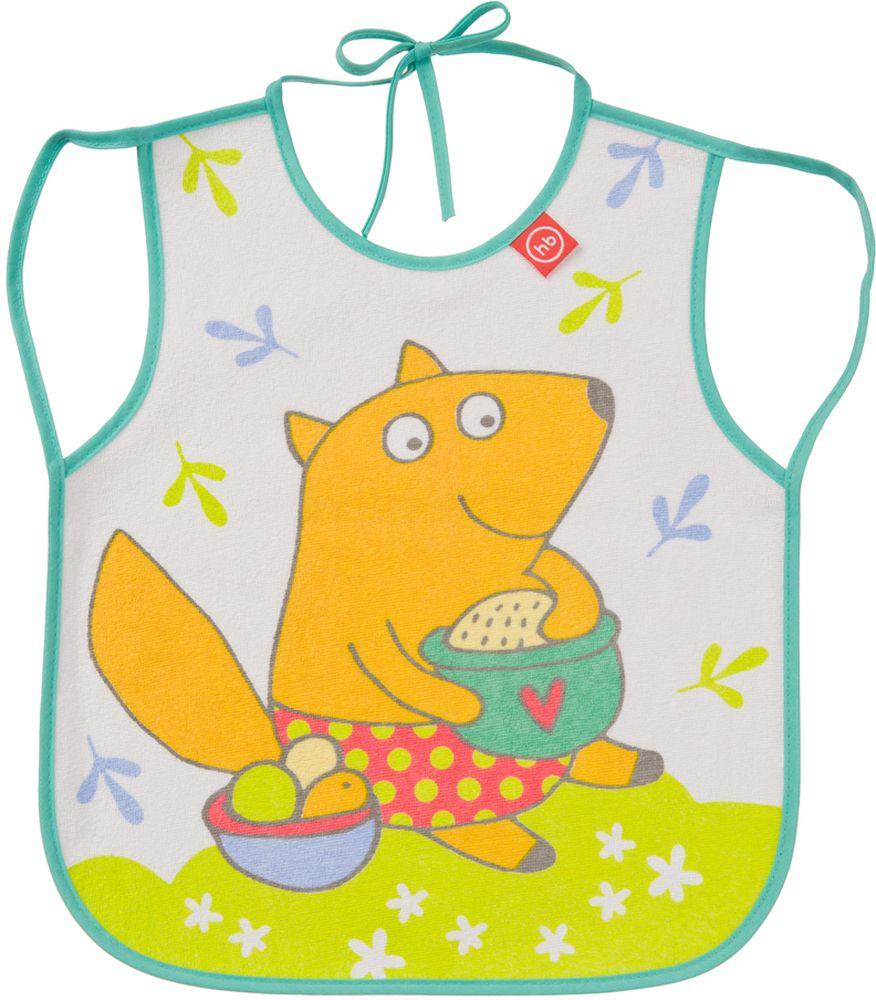 Happy Baby Фартук нагрудный Лисичка регулируемый нагрудный фартук с