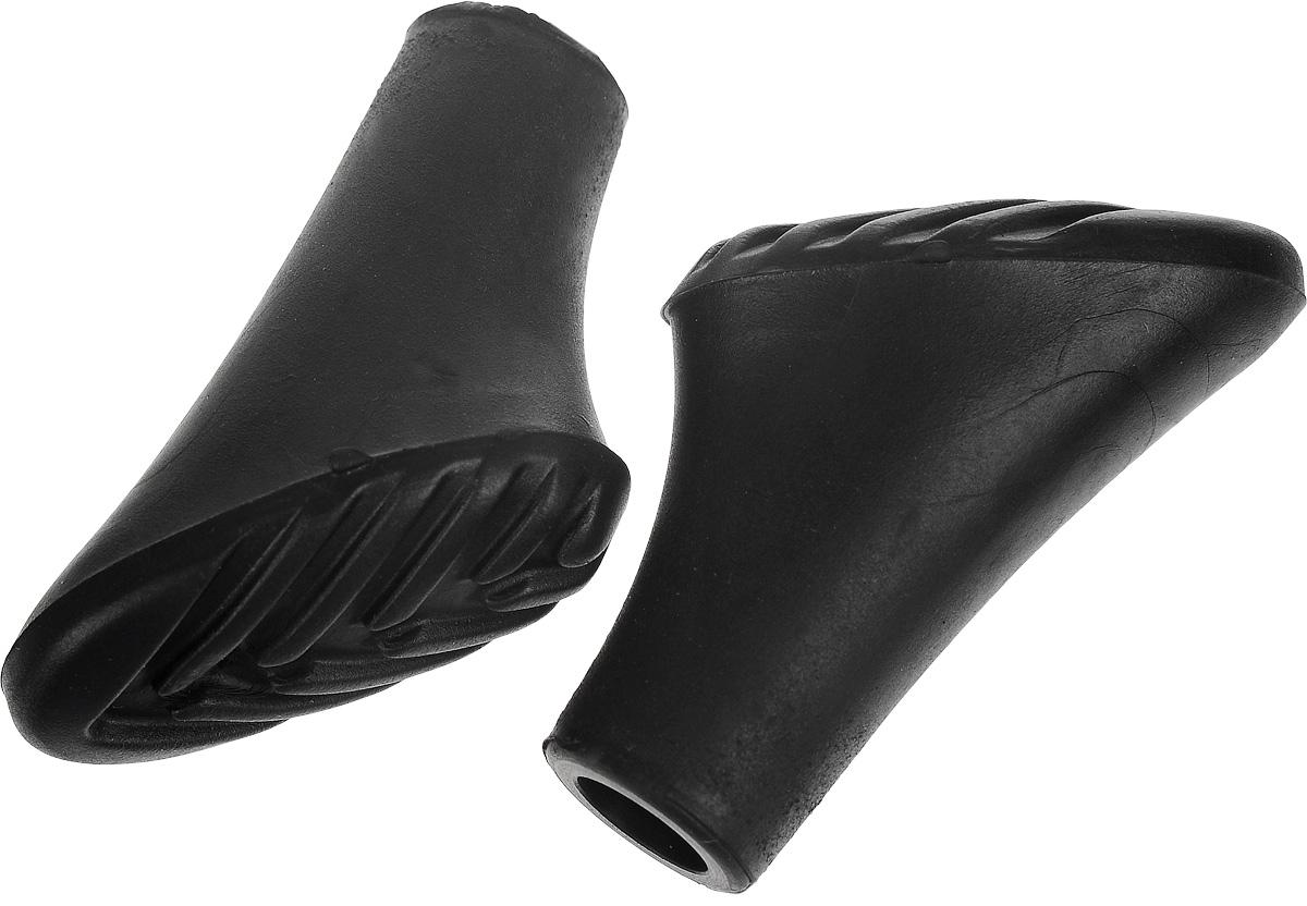 Колпачки для скандинавских палок, 2 штT014Насадка на палку для скандинавской ходьбы, предназначена для передвижений по асфальтовым дорожкам или плотному грунту. Изделие выполнено из полимера. Использование данной насадки необходимо для предотвращения повреждения покрытия и уменьшения износа палки из-за постоянного трения о твердую поверхность. Кроме того, при наличии насадки вы не будете издавать громкого стука при ходьбе.Комплектация: 2 шт.Размер колпачка: 4 х 2,5 х 4 см.