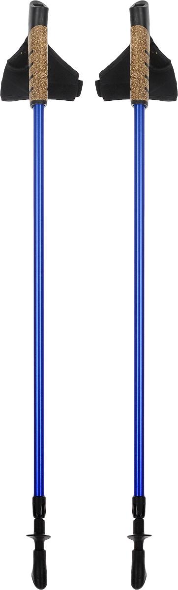 Палки для скандинавской ходьбы, телескопические, длина 80-135 см, 2 шт. FT138FT138Телескопические палки для скандинавской ходьбы с системой секционной блокировки, разработанной по цанговому принципу. Подходят как для продвинутых спортсменов, так и для начинающих. Рукоять снабжена эргономичным регулируемым темляком. При весе всего в 220 г используется легкий, упругий и самый прочный металл. Палки состоят из 2 секций. В нижней секции расположена метрическая разметка для быстрой и точной регулировки длины под рост. Съемный наконечник из полимерного материала, для высокого сцепления. Используются только не токсичные краски. Под наконечником расположен шип.Технологии:Метал.Идеально отполированные детали.80-135 - шаблон моделирования высоты, универсальный рост.Эргономичный темляк для скандинавской ходьбы.Надежная и удобная система секционной блокировки, основанная на цанговом принципе.Пластиковые детали от ведущего производителя.Комплектация:Палки телескопические для скандинавской ходьбы - 1 пара.