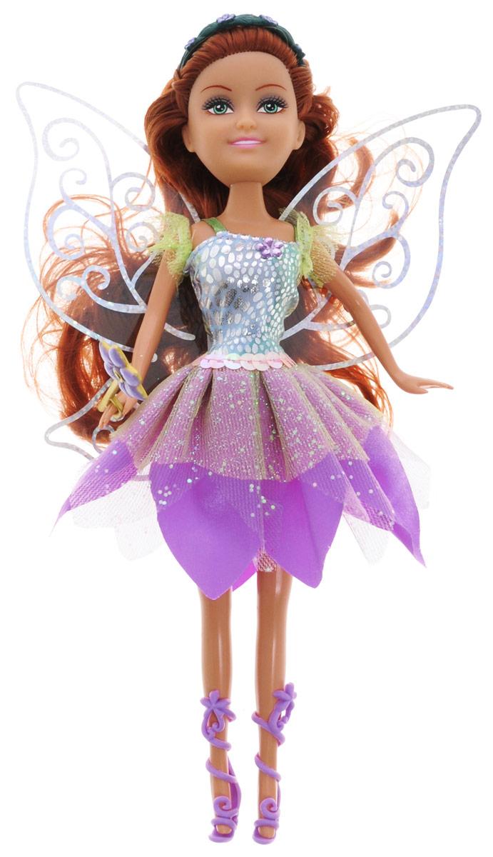 ABtoys Кукла Brilliance Fair Цветочная фея цвет платья фиолетовый abtoys кукла фея цвет одежды фиолетовый