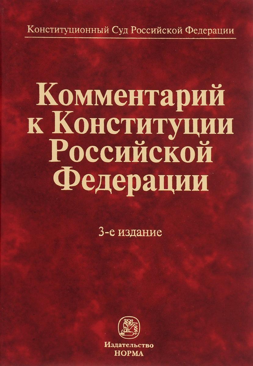 Комментарий к Конституции Российской Федерации учебники проспект европейская конвенция о защите прав человека и основных свобод в судебной практике