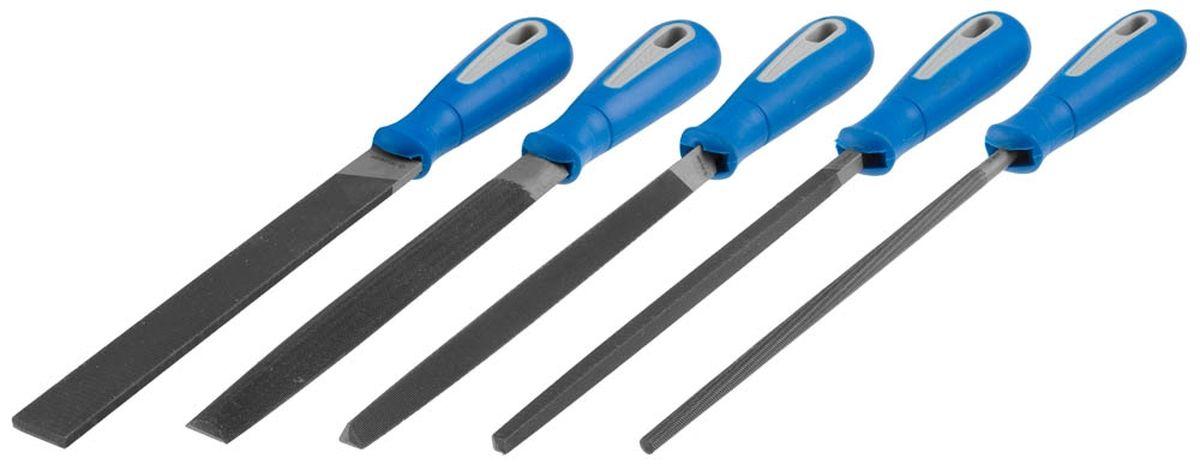Набор напильников Зубр Профессионал. №2, с ручками, 3 шт16651-20-H5Набор Зубр Профессионал. №2 состоит из 3 напильников: плоского, трехгранного, круглого. Онииспользуются для обработки отверстий и краев заготовок, а также для снятия заусенцев. Каждыйинструмент оснащен рабочей частью из заточенной инструментальной стали и двухкомпонентнойрукояткой, которая обеспечивает надежный захват и комфортное применение. Напильники имеютдвойную насечку. Длина напильника: 20 см.