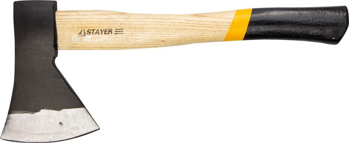 """Топор кованый Stayer """"Master"""", с деревянной рукояткой, 1 кг"""