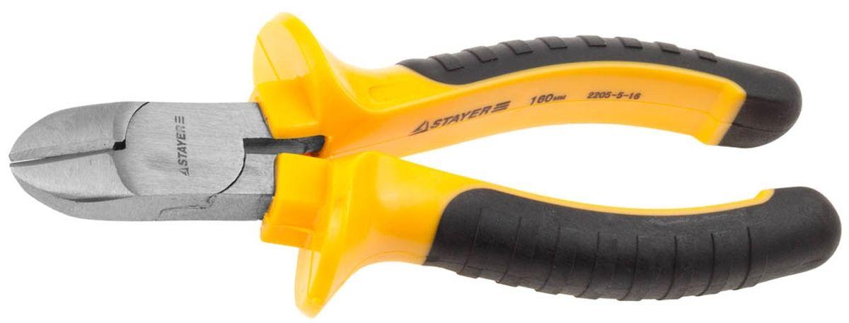 Бокорезы Stayer Standard, длина 160 мм паяльник с пластмассовой рукояткой и долговечным жалом 60вт клин stayer standard 55330 60