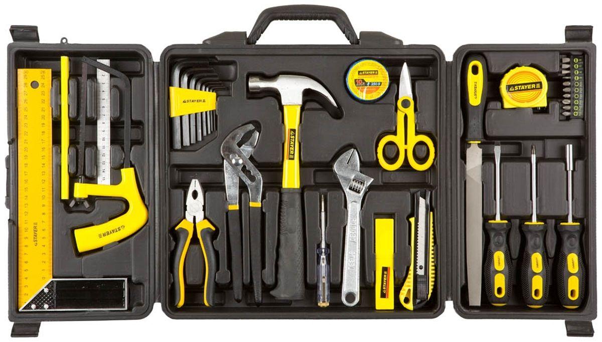 Набор Stayer Инструменты Standard Умелец для ремонтных работ, 36 предметов набор инструментов stayer standard 12 предметов 27752 h12