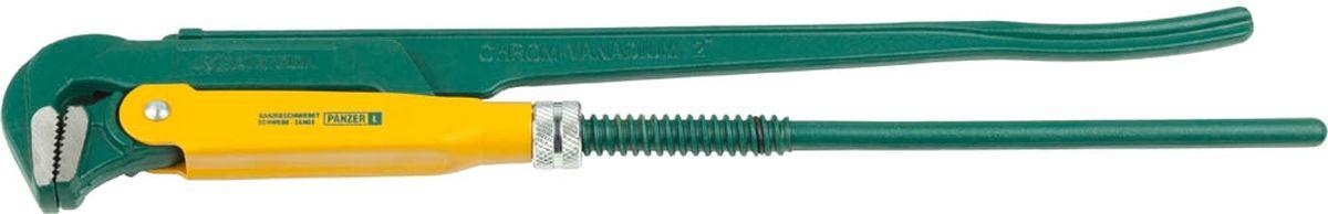 Ключ трубный Kraftool, тип PANZER-L, 2, 560 мм2734-20_z01Ключ трубный Kraftool используется для фиксации труб с резьбой или болтов. Инструмент надежен в применении и долговечен. В качестве материала использована хром-ванадиевая сталь, что повышает долговечность и устойчивость к коррозии. Тип ключа: PANZER-L. Длина инструмента: 560 мм. Максимальный размер зева ключа: 2 дюйма. Губки ключа: прямые. Корпус ключа: цельнокованый.