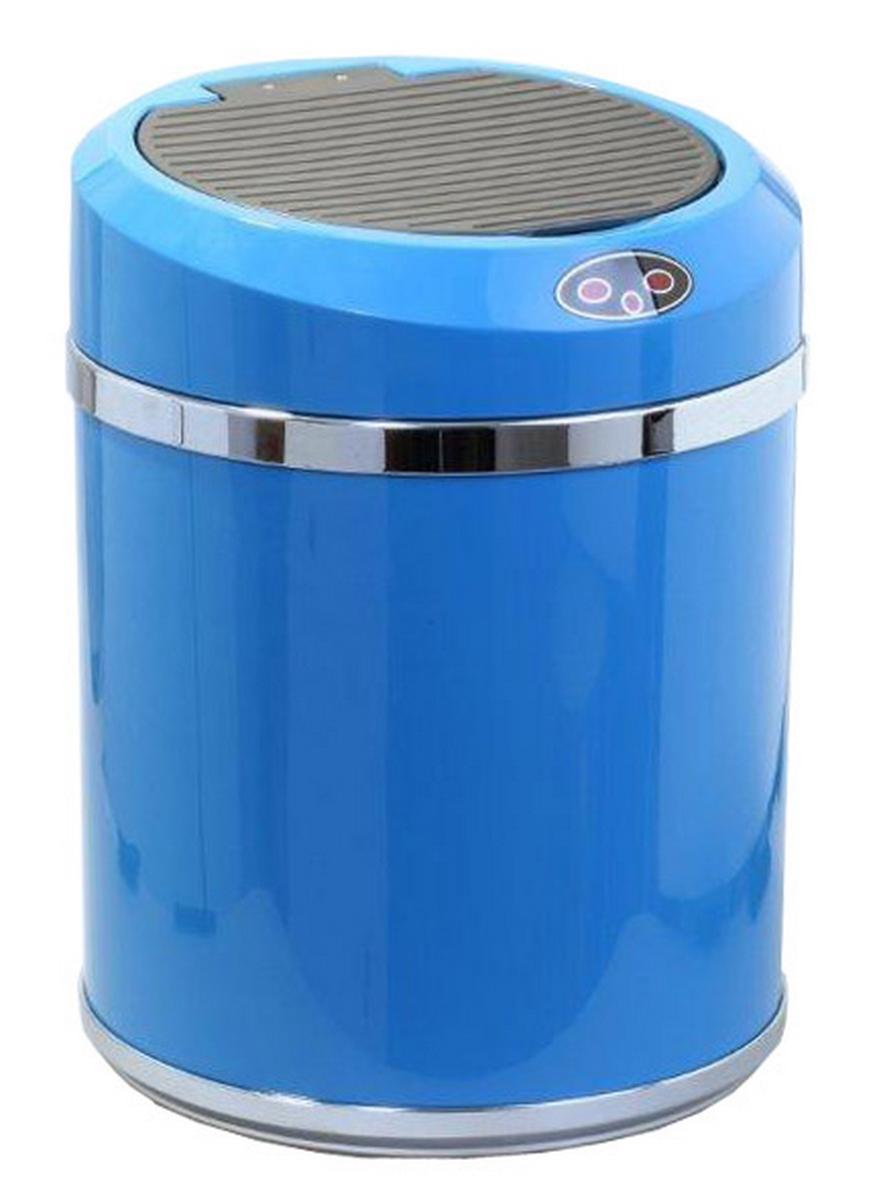 Ведро для мусора DEW  A , сенсорное, цвет: голубой, 11 л -  Инвентарь для уборки