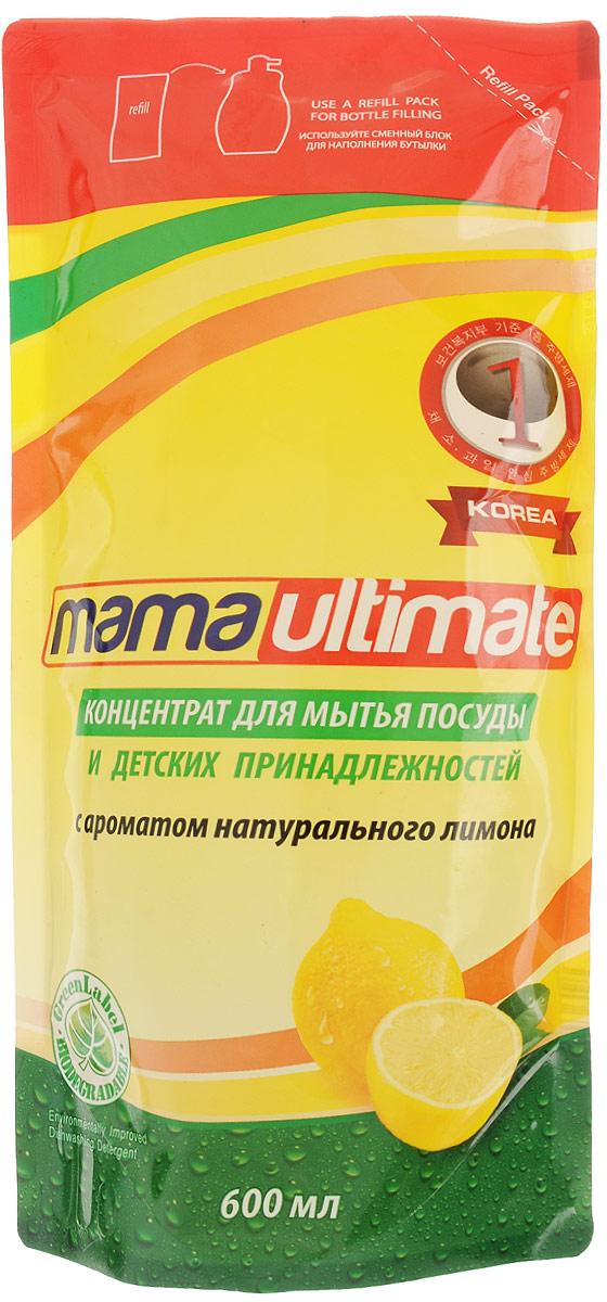 Концентрат для мытья посуды и детских принадлежностей Mama Ultimate, с ароматом натурального лимона, 600 мл43618Средство Mama Ultimate, выполненное на основе природных минералов с биоразлагаемой формулой, предназначено для мытья посуды и детских принадлежностей. Обладает смягчающим эффектом для кожи рук, эффективно устраняет неприятные запахи, легко удаляет жир даже в холодной воде.Состав: (30% и более) вода, (5% или более, но менее 15%) натрия лауретсульфат, (менее 5%) алкилбензолсульфокислота, хлорид натрия, гидроксид натрия, метилхлоризотиазолинон и метилизотиазолинон, трилон Б, парфюмерная композиция, краситель.Товар сертифицирован.