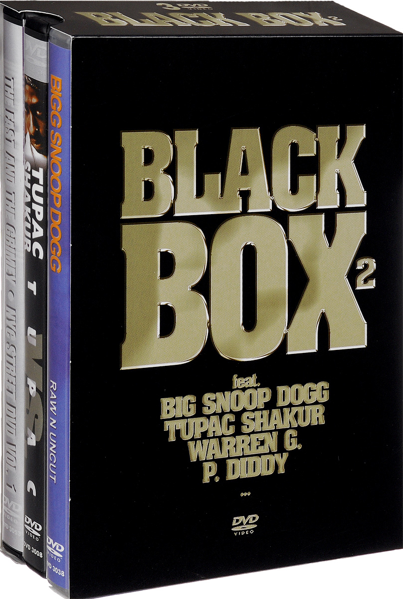 Black Box 2 (3 DVD) metallica cunning stunts 2 dvd