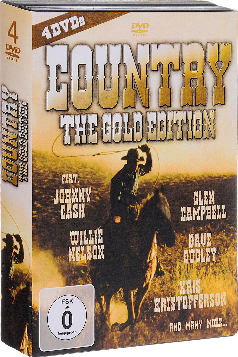 Country: The Gold Edition (4 DVD) nokia 6700 classic gold edition