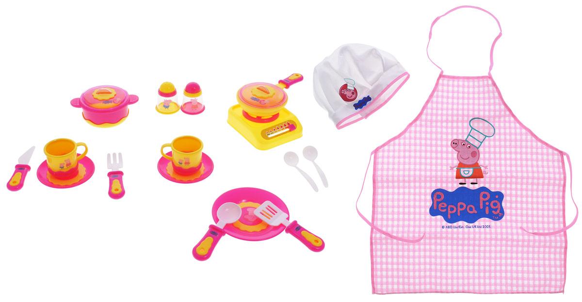 Peppa Pig Игрушечный набор посуды Пеппа-повар
