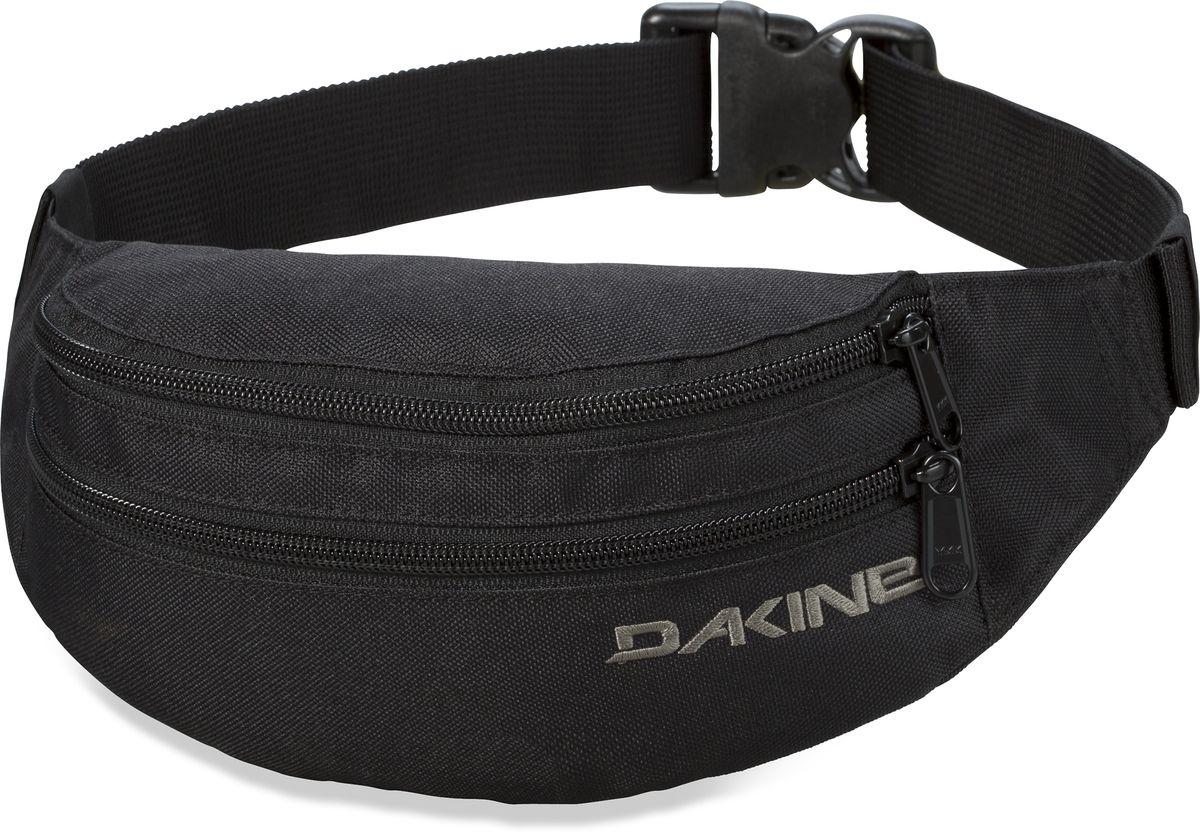 Сумка поясная Dakine W16 DK CLASSIC HIP PACK BLACK. 8130205 сумка поясная dakine classic hip 0 7l pack kava kav