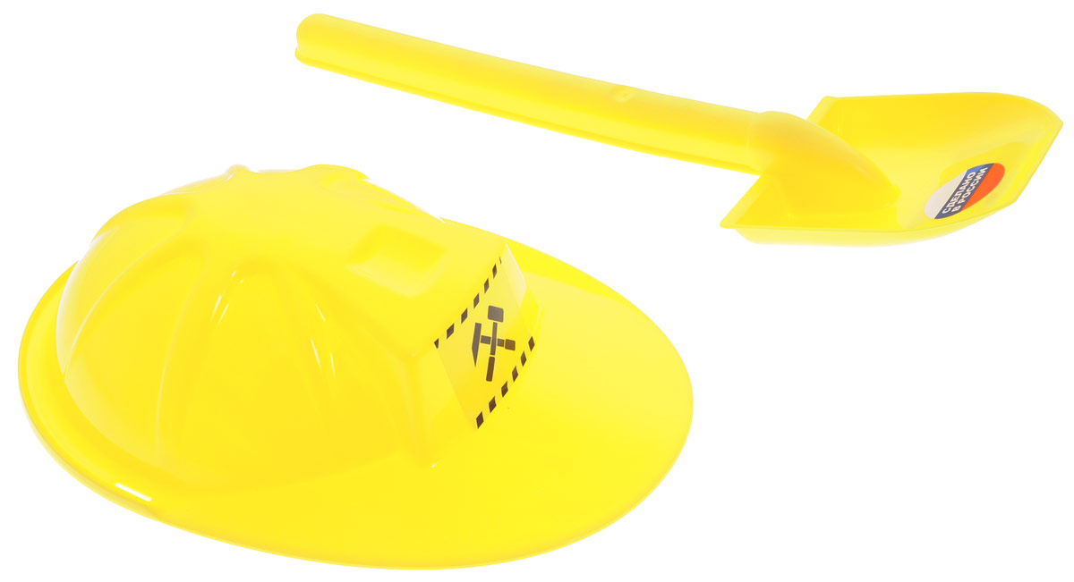 Zebratoys Набор для песочницы цвет желтый 2 предмета