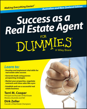 "Success as a Real Estate Agent for Dummies ??"" Australia / NZ james lumley e a 5 magic paths to making a fortune in real estate"