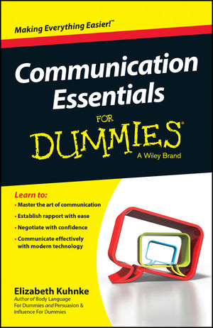 Communication Essentials For Dummies coura co048awrnt35 coura