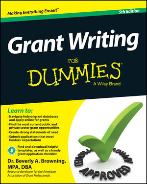 Grant Writing For Dummies купить