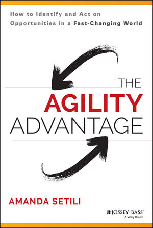 "The Agility Advantage: How to Identify and Act on Opportunities in a Fast??""Changing World seena sharp competitive intelligence advantage how to minimize risk avoid surprises and grow your business in a changing world"