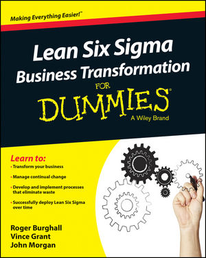 Lean Six Sigma Business Transformation For Dummies change your mind change your life